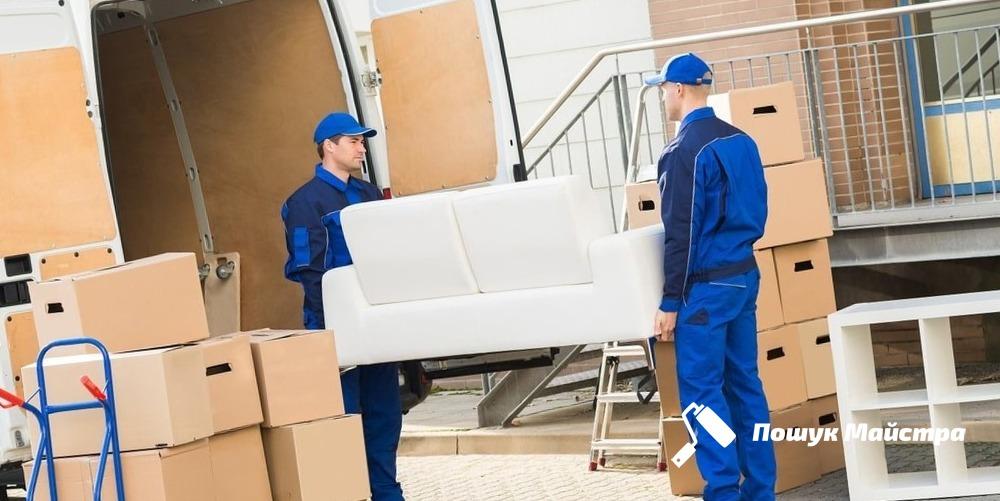 Послуги вантажників: технологія проведення роботи