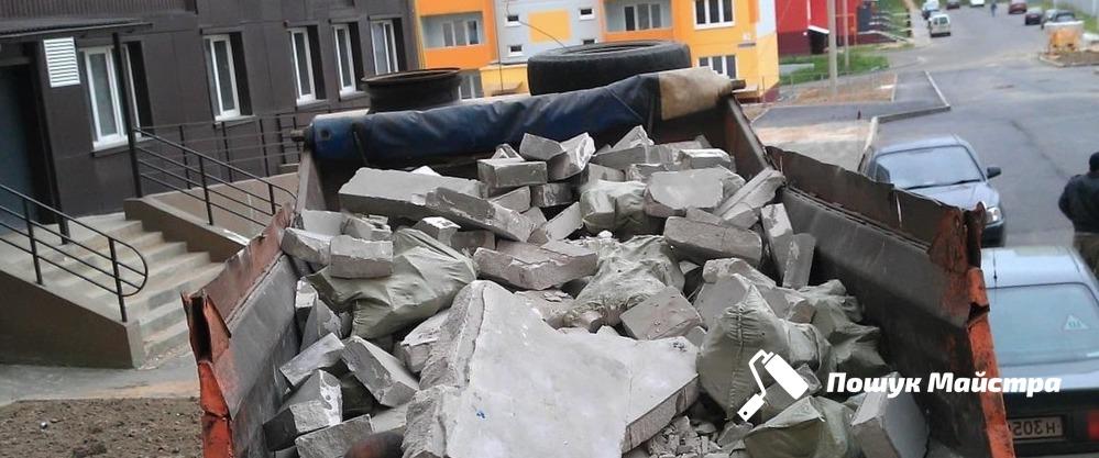 Основна технологія вивезення сміття у Львові
