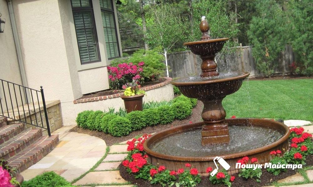 Декоративні фонтани: основні переваги