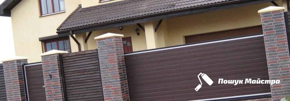 Почему так популярны ворота из профнастила во Львове