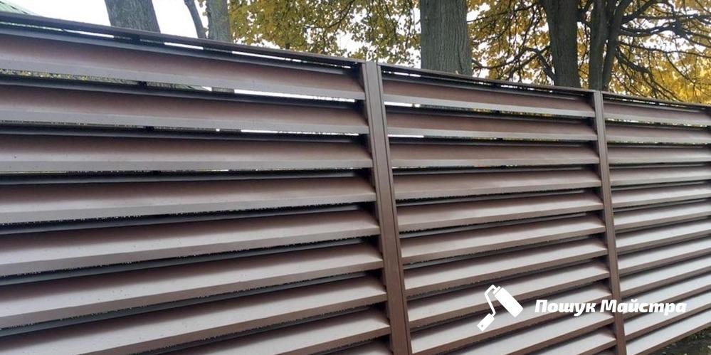Монтаж металевого паркану: особливості технології