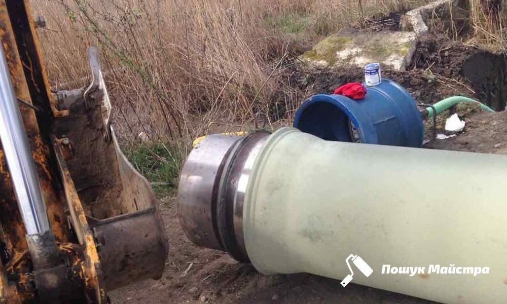 Каналізаційні труби Львів | Ціна прокладки каналізації