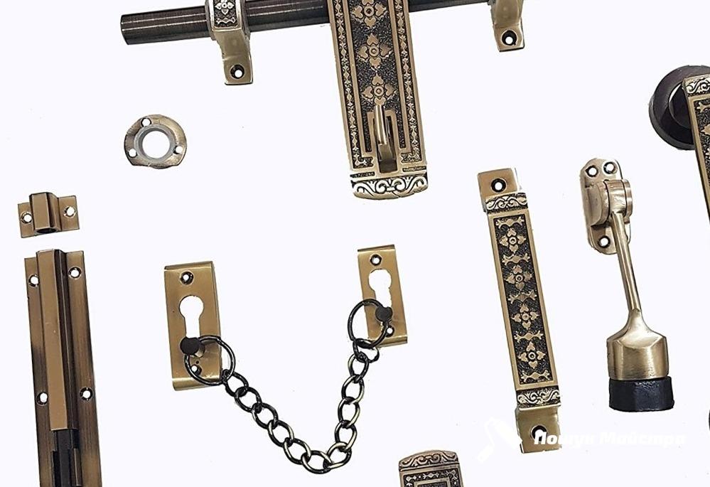Технология установки дверной фурнитуры