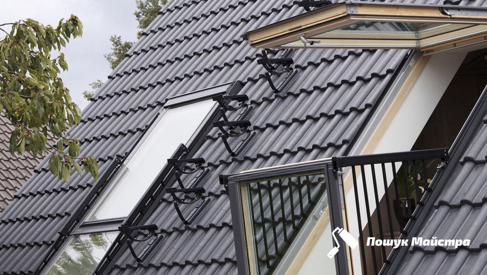 Основна технологія монтажу мансардних вікон