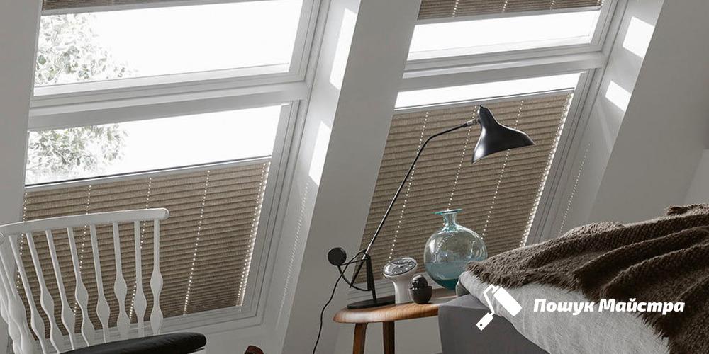 Монтаж дахових вікон