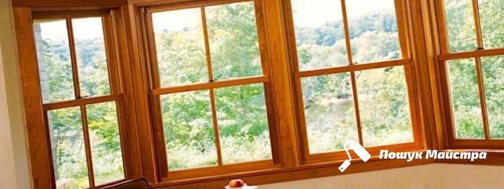 Деревянные окна во Львове: главные преимущества