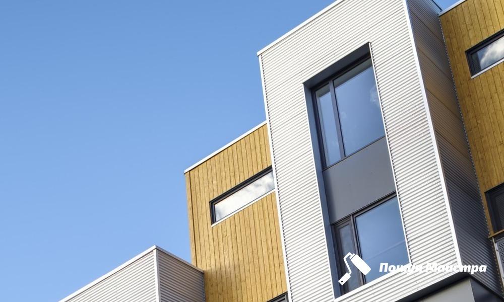 Облицовка фасадов: основные виды материалов