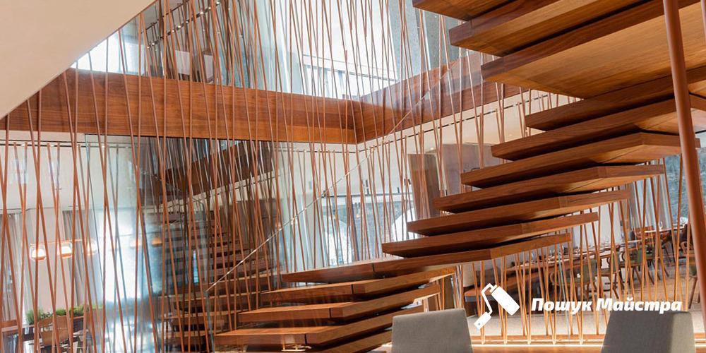Подвесные лестницы во Львове: преимущества конструкции