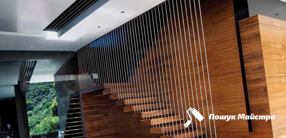 Монтаж підвісних сходів: особливості технології