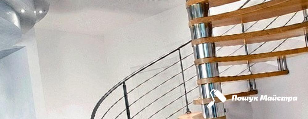 Монтаж винтовых лестниц Львов – цены мастеров, отзывы