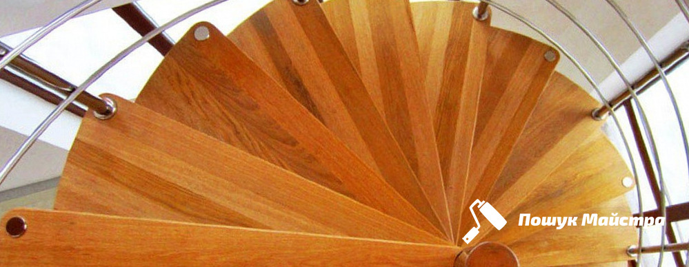 Винтовые лестницы во Львове: преимущества конструкции