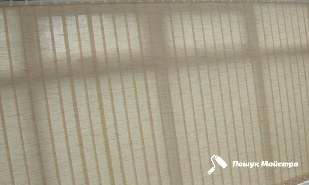 Установка вертикальних жалюзі: технологія робіт