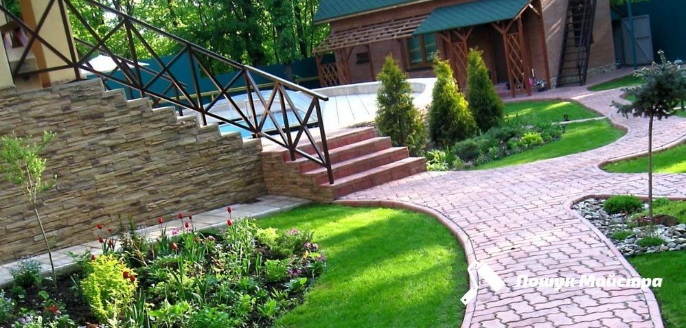 Ландшафтный дизайн двора – цена дизайна двора