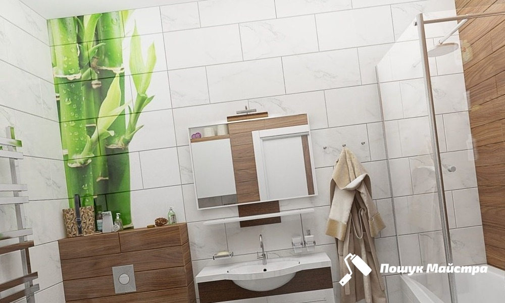 Дизайн ванної кімнати у Львові: технологія робіт