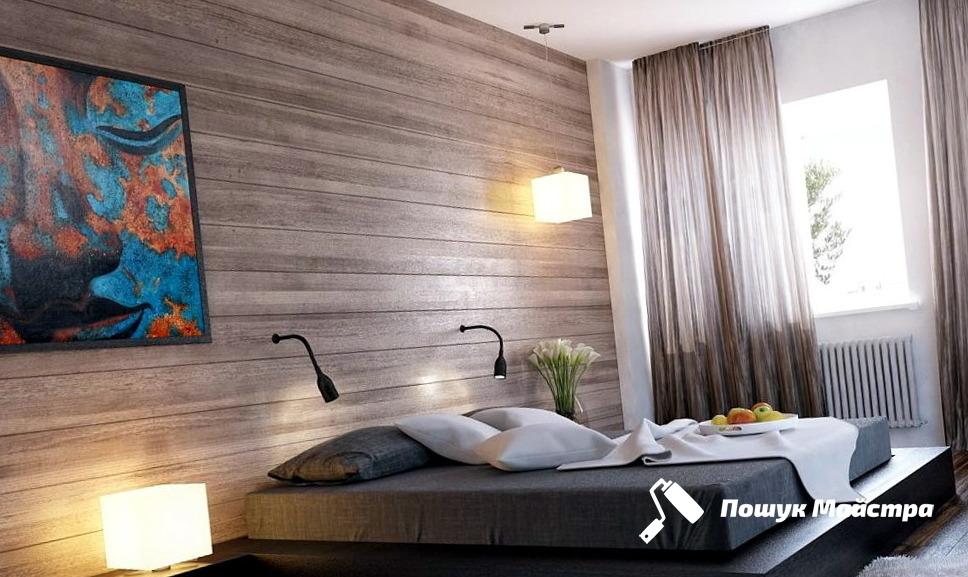 Дизайн спальни во Львове: технология работ