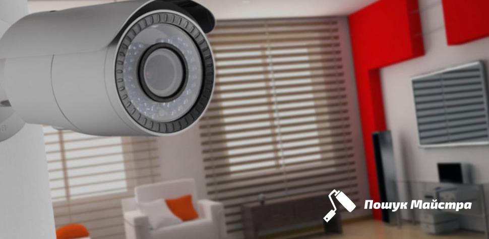 Монтаж камери в приміщенні: ціни установки від майстрів