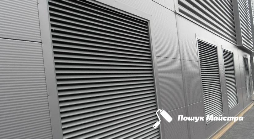 Монтаж внешней решетки вентиляции: основное назначение оборудования