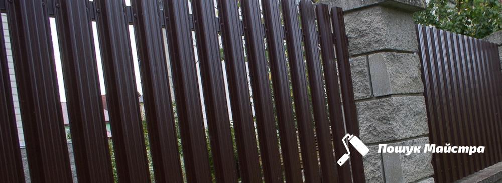 Будівництво паркану Львів | Ціна паркану під ключ для будинку, дачі