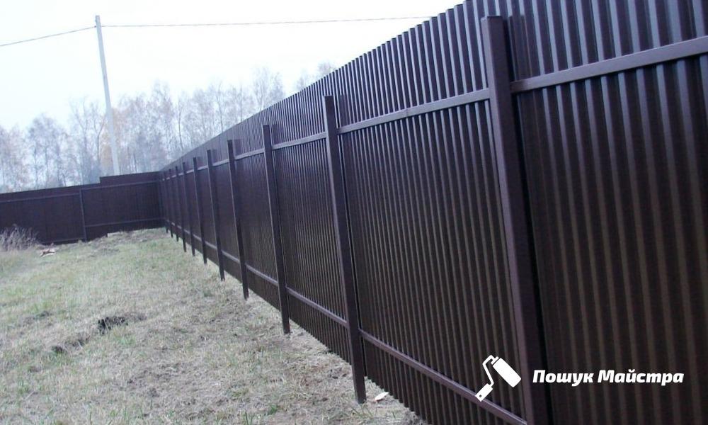 Строительство забора Львов | Цена забора под ключ для дома, дачи
