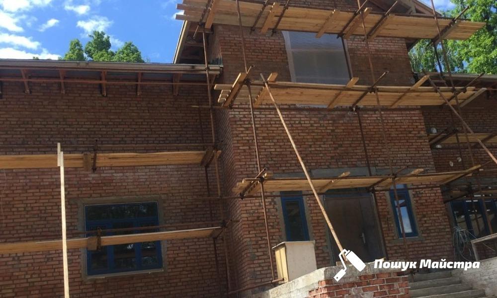 Фасадные работы Львов | Цены мастеров и альпинистов