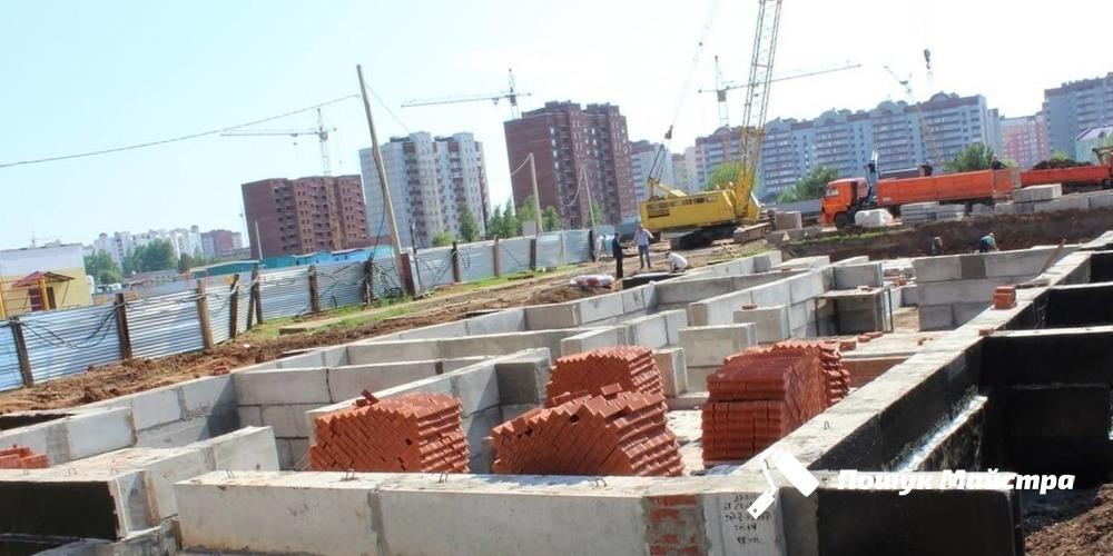 Монтаж фундаментных блоков: особенности технологии