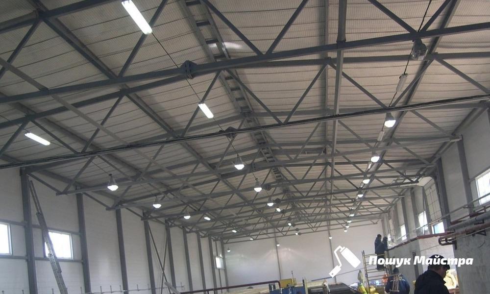Монтаж металоконструкцій промислових будівель, ціни