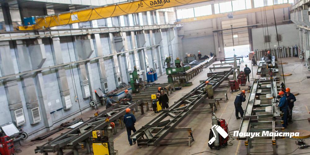 Виготовлення металоконструкцій у Львові