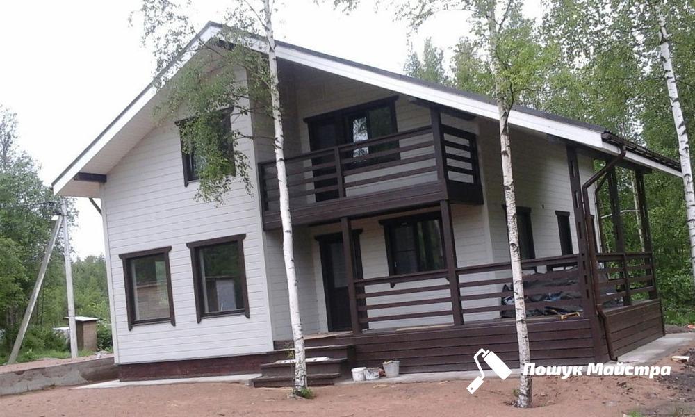 Будівництво каркасних будинків з бруса під ключ: Канадська технологія