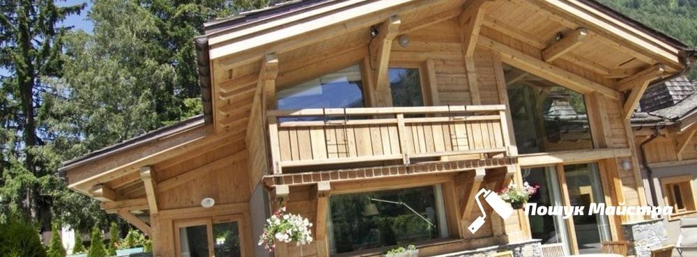 Строительство деревянных домов из бруса под ключ Львов
