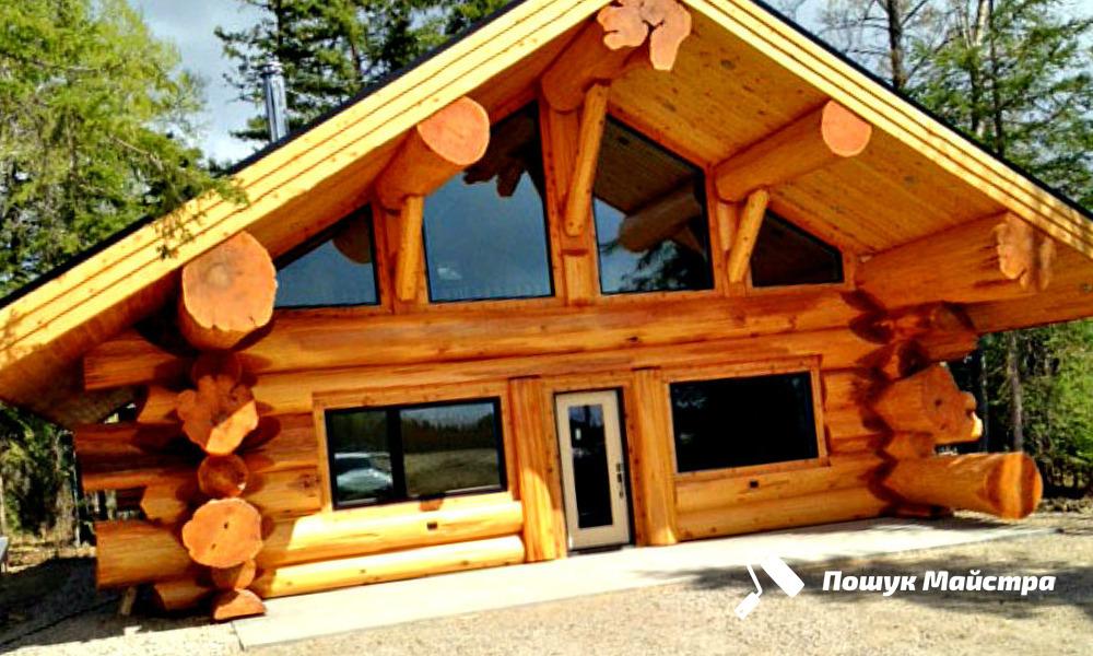 Деревянные дома из сруба: особенности технологии