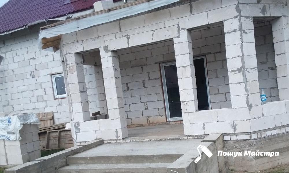Дома из газоблоков во Львове: особенности технологии возведения
